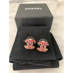 Authentic Chanel earrings from Chanel store
